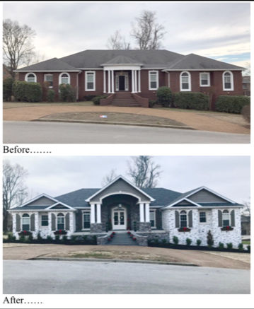 Before and After Photo - Residential Renovations - Fortune Construction